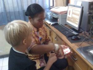 Immigration Office Fingerprinting