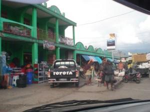 Downtown Wamena.