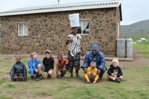 Lesotho Africa Basotho village