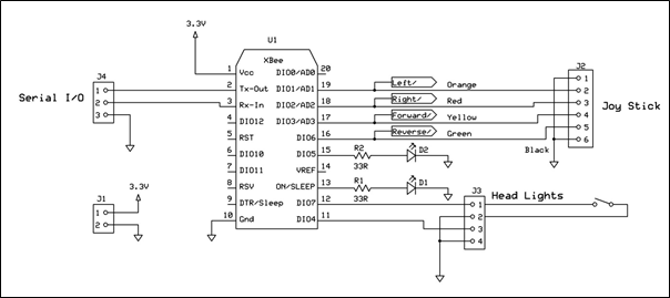 rc helicopter circuit diagram car radio wire of zigbee transmitter wiring how to build a remote control with packt hub rh packtpub com rf and receiver transistor