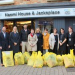 esa get on their bikes for Naomi House's ultimate store wars