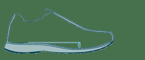 small resolution of running shoe heel toe drop diagram