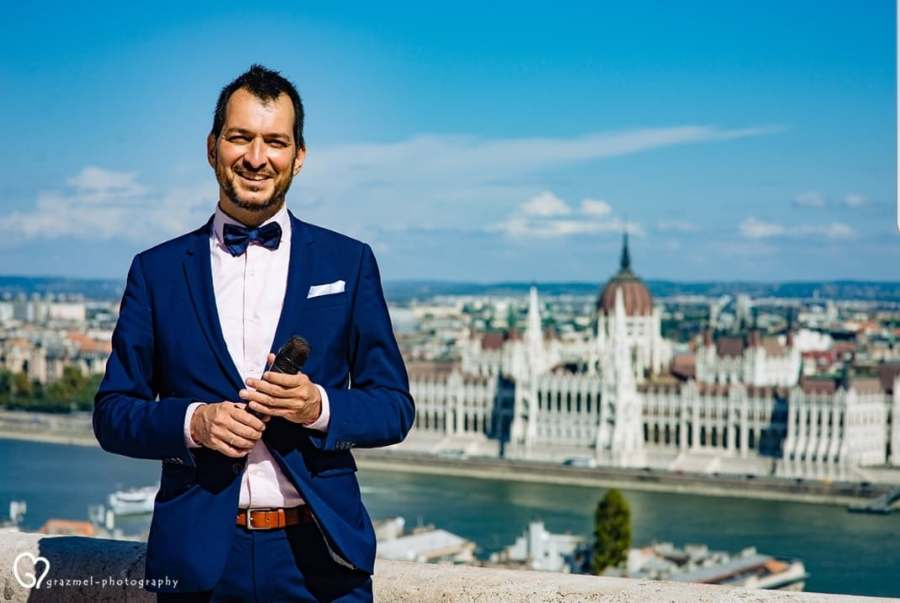 Master of Ceremonies in Budapest, Fisherman's Bastion