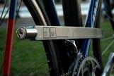 A titanium doozy for bike thieves.