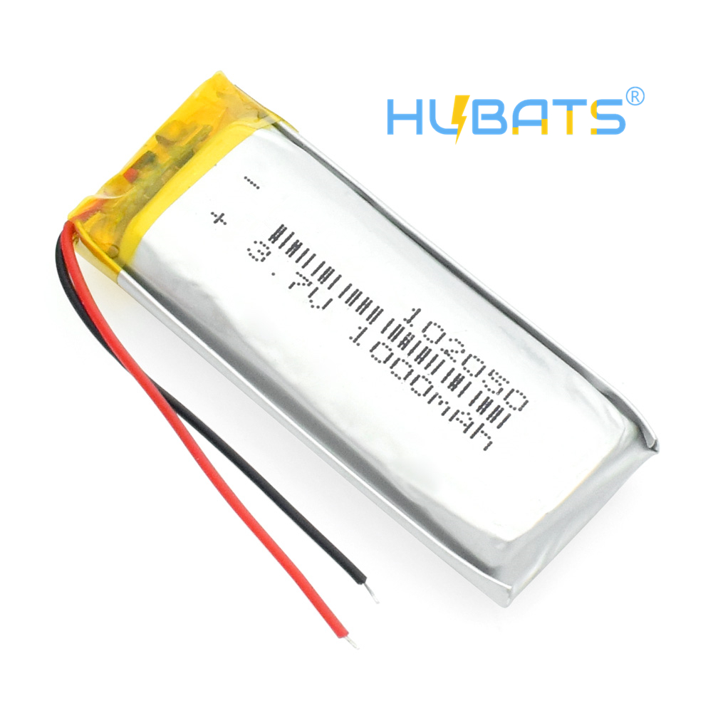 1000mah lithium-ion polymer battery 3.7 V 102050 For MP3 MP4 MP5 GPS KTV household battery amplifier audio computer microphone – Hubats