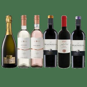 Промобокс - 6 бутилки Гранде Италия
