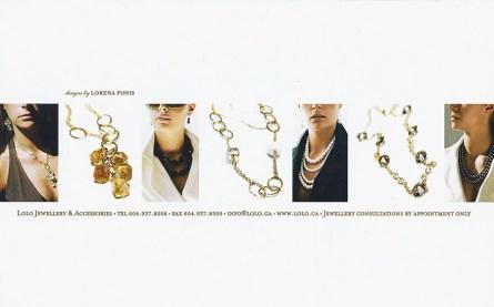 Angela Hubbard photography promo piece lolo jewelry