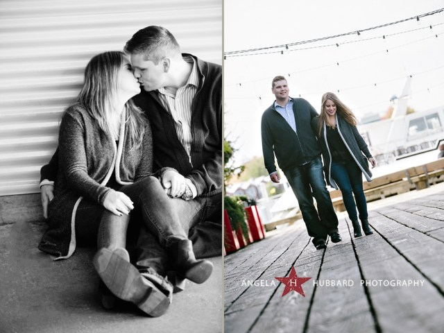Granville Island engagement photosession Vancouver wedding photographer Angela Hubbard photography