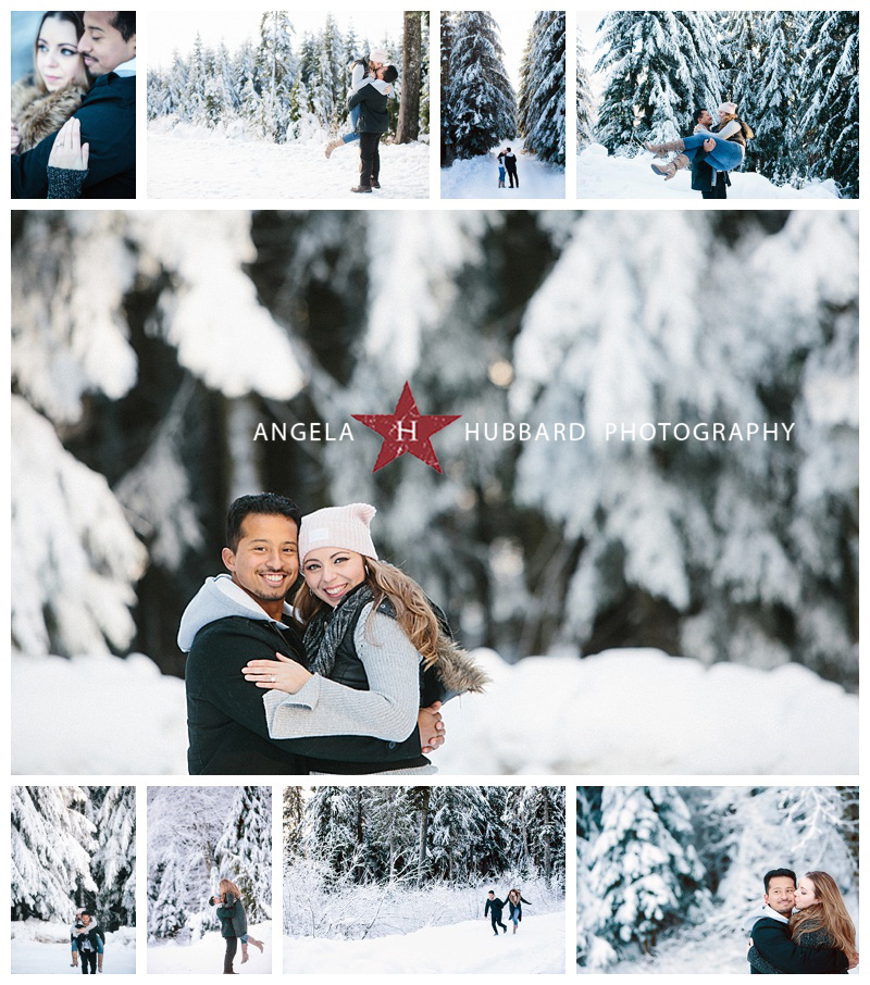 winter engagement photography angela hubbard photography