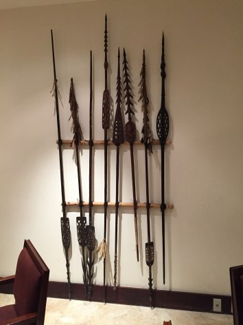 Deadly spears at Rimba