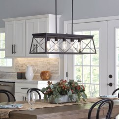 Farmhouse Kitchen Lighting Fixtures How To Replace Countertops 威廉希尔中文网站 农家风格 进步照明 农舍