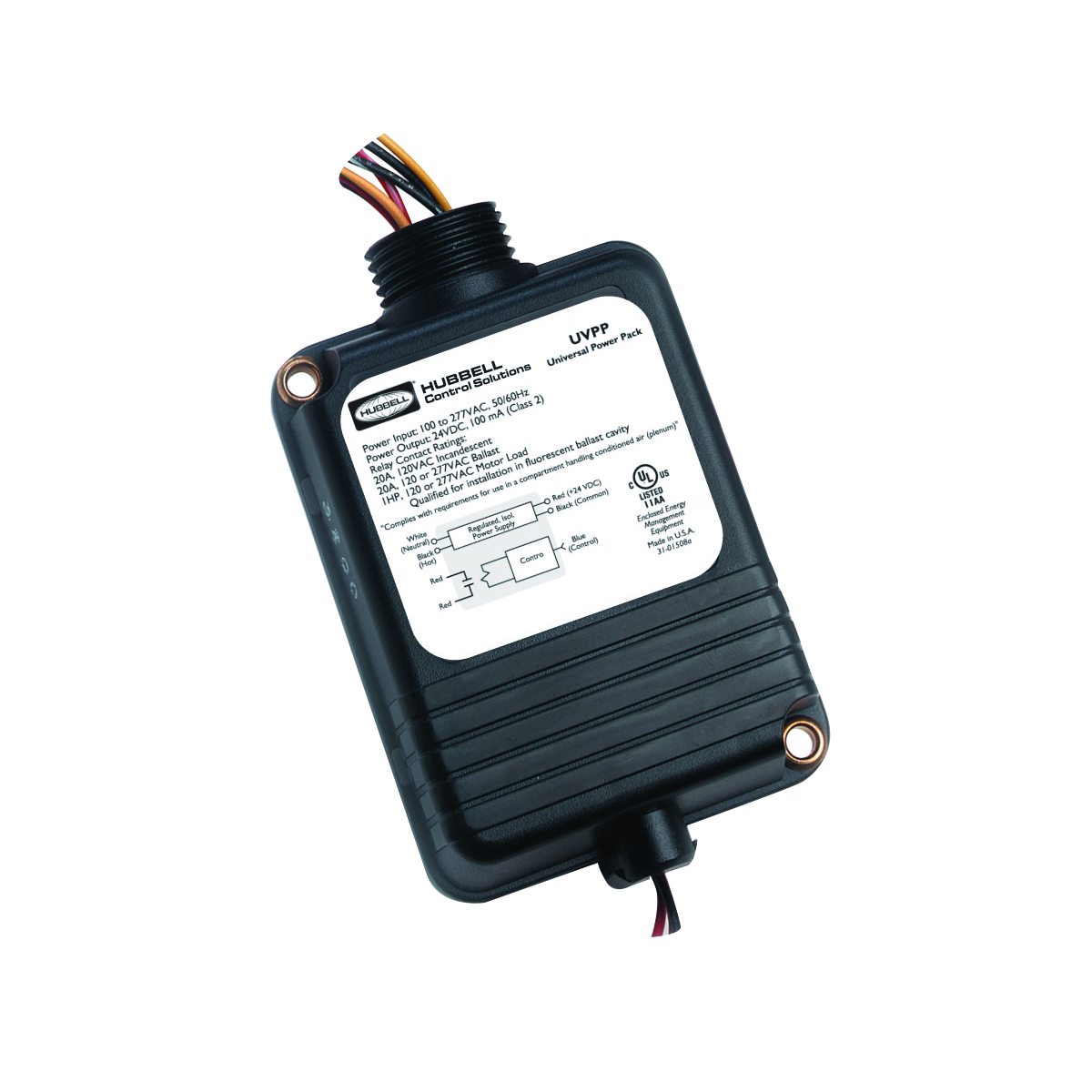 hight resolution of universal voltage power packs by hubbell control solutions
