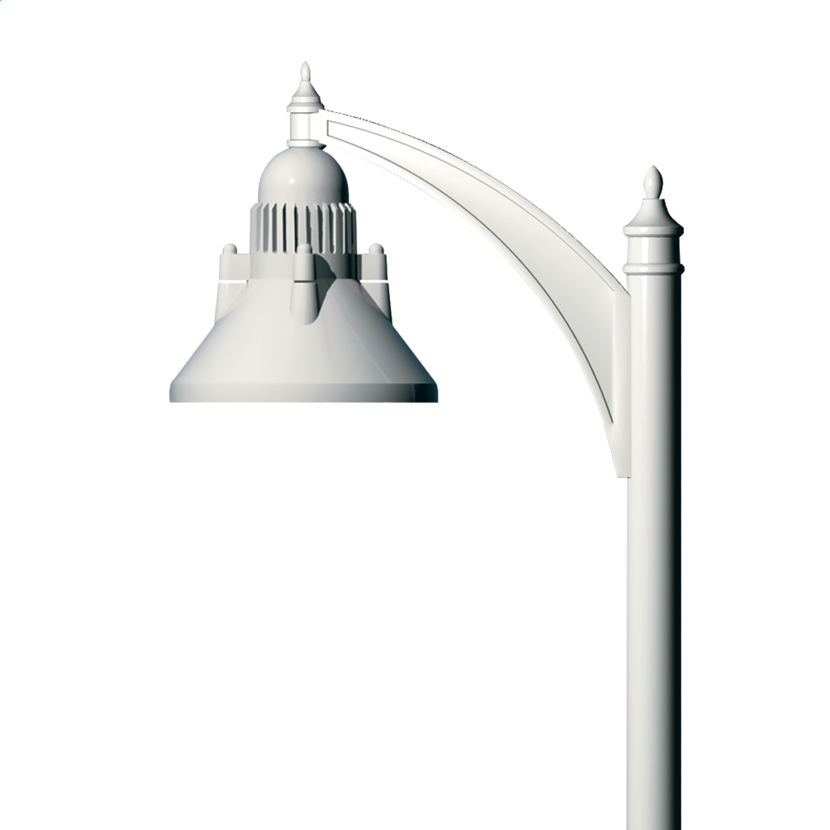 Swept Cast Arm  Poles  Arms  Commercial Outdoor