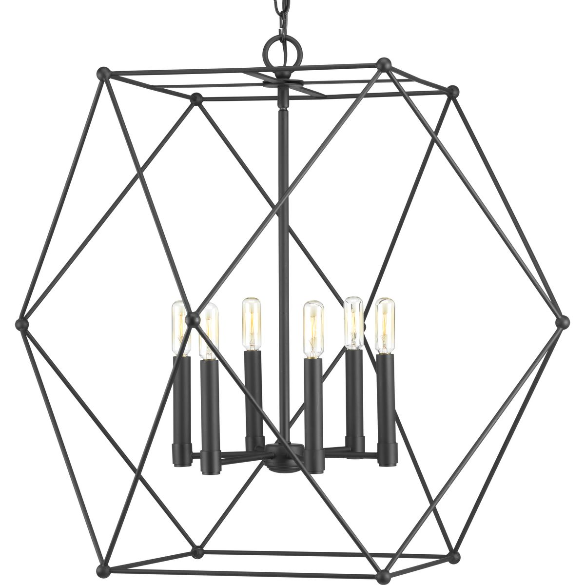 Spatial Collection Six Light Pendant