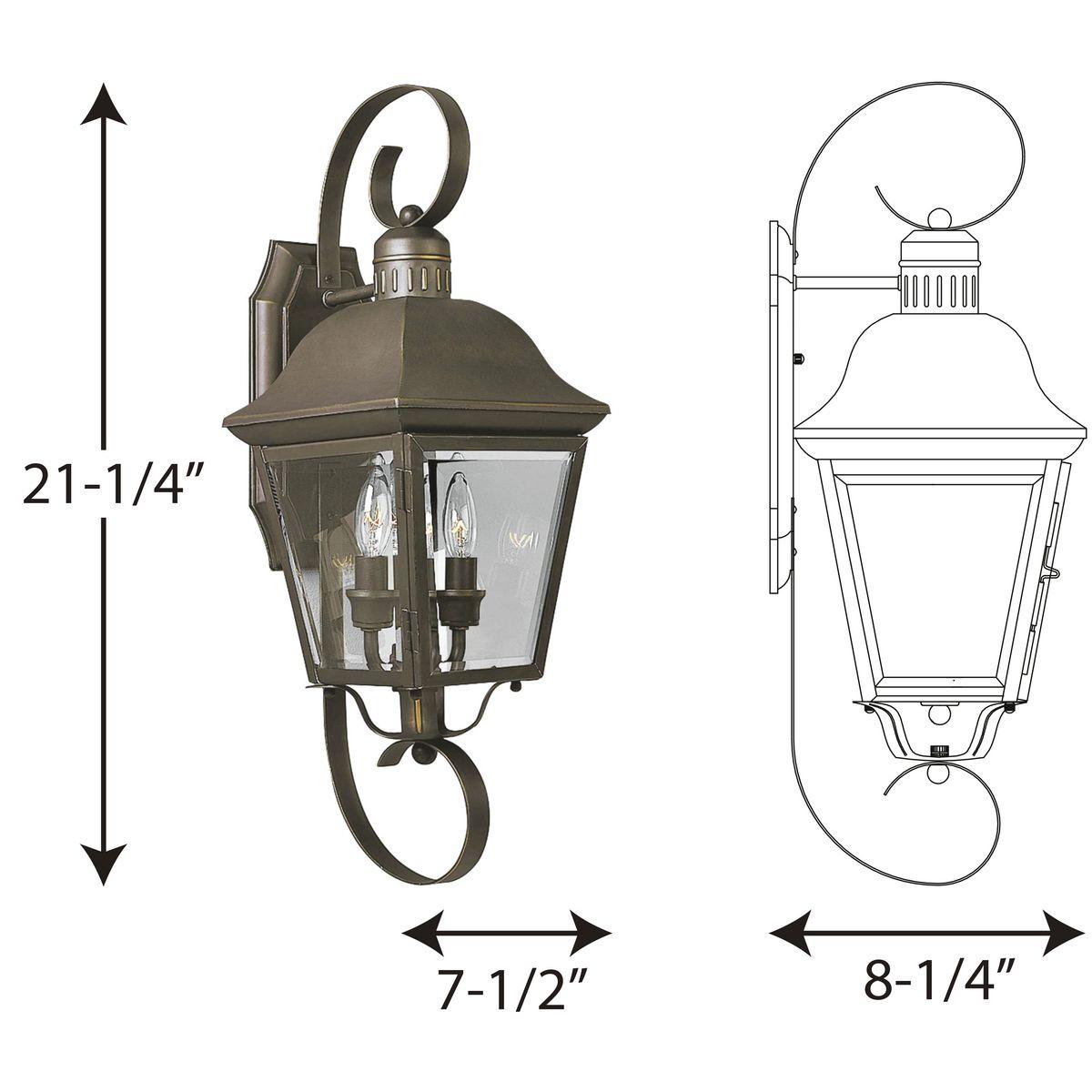 light medium wall lantern