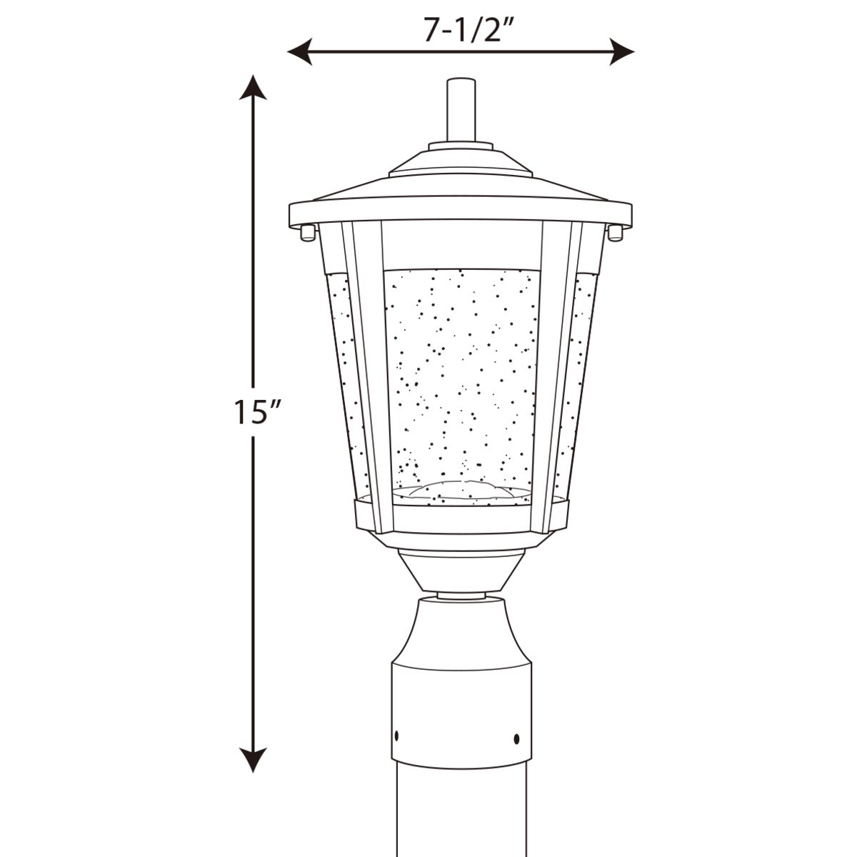 East Haven Collection Led Post Lantern