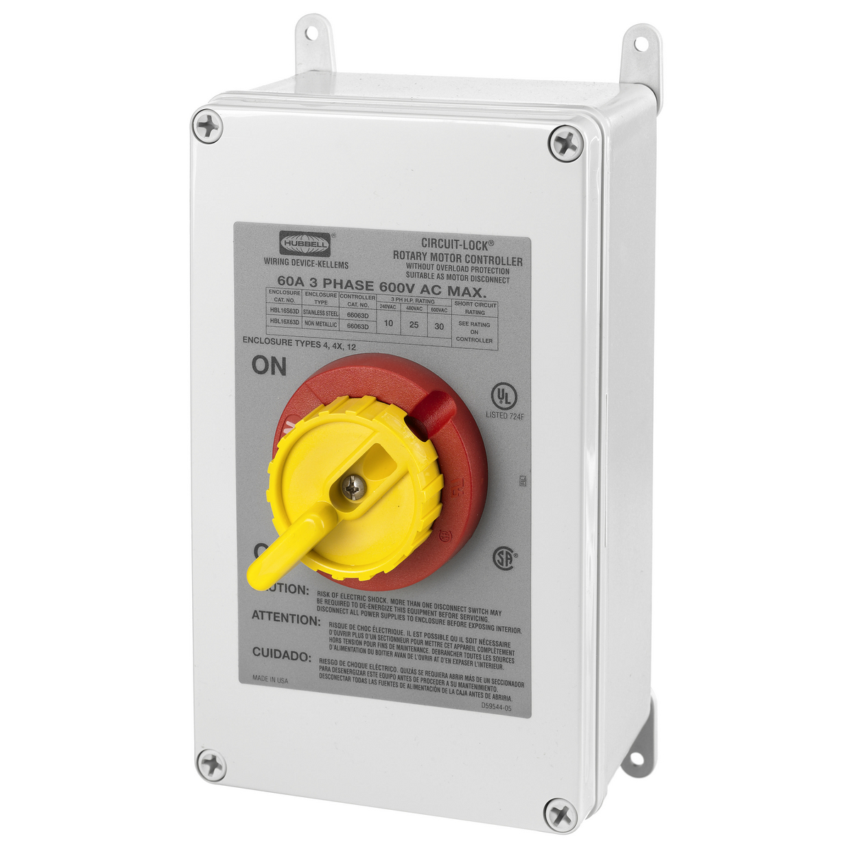 hight resolution of hubbell hbl16x63d switches and lighting controls industrial grade switched enclosures motor disconnects