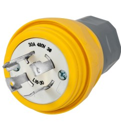 wiring device kellems twist lock locking plug 3 phase grounding male [ 1200 x 1200 Pixel ]