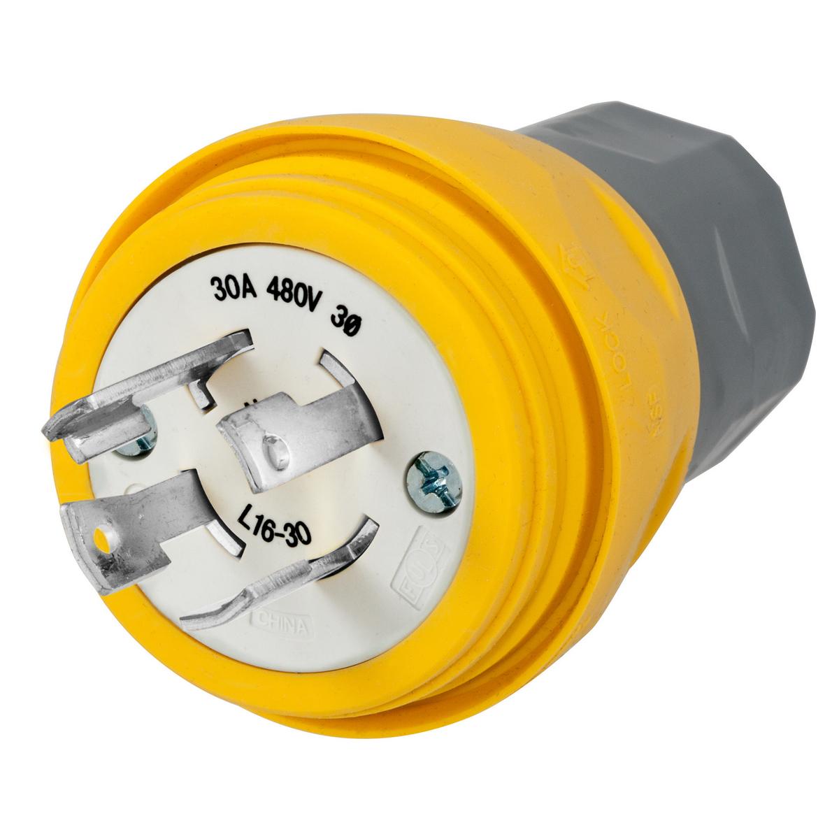 hight resolution of wiring device kellems twist lock locking plug 3 phase grounding male