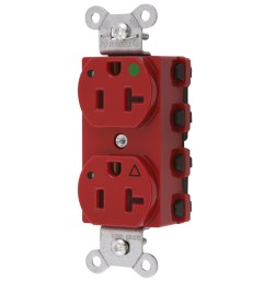 wiring device kellems snapconnect straight blade receptacle duplex extra heavy duty isolated ground [ 1200 x 1200 Pixel ]
