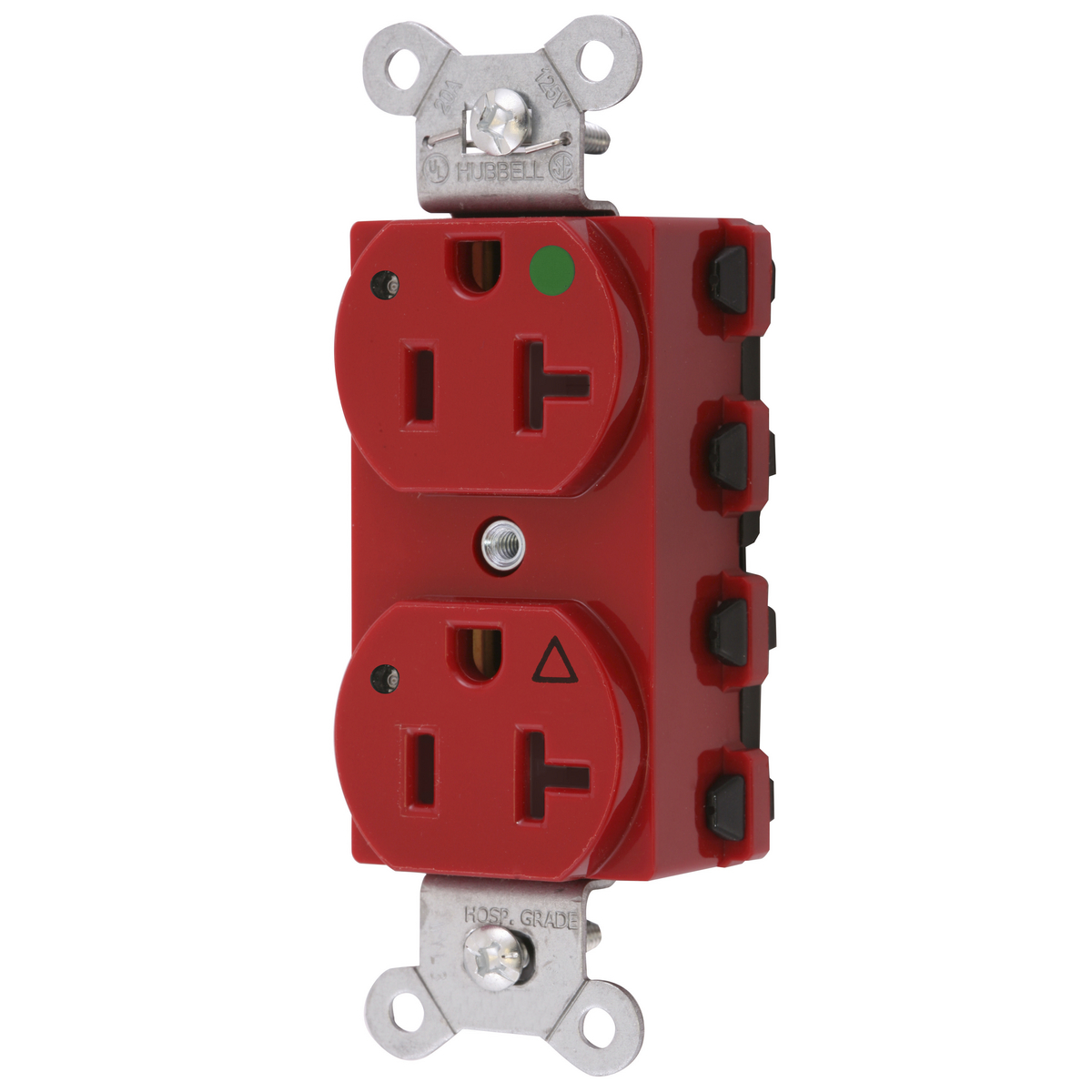 hight resolution of wiring device kellems snapconnect straight blade receptacle duplex extra heavy duty isolated ground