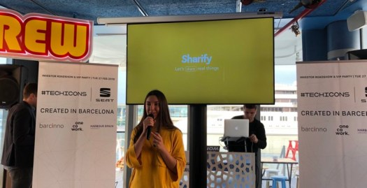 Barna Hub talks with CEO and co-founder of Sharify Gemma Prenafeta