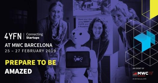 4YFN 2019 Barcelona startup Conference