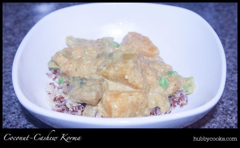 Vegan Coconut-Cashew Korma