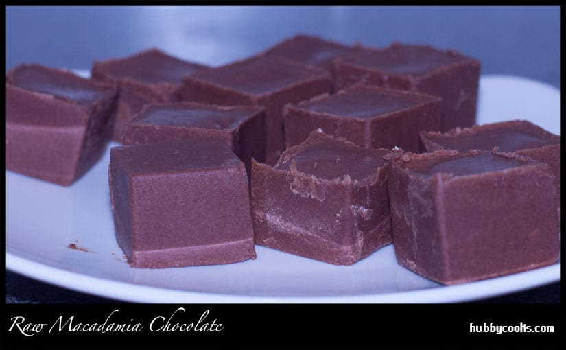 Raw Macadamia Chocolate