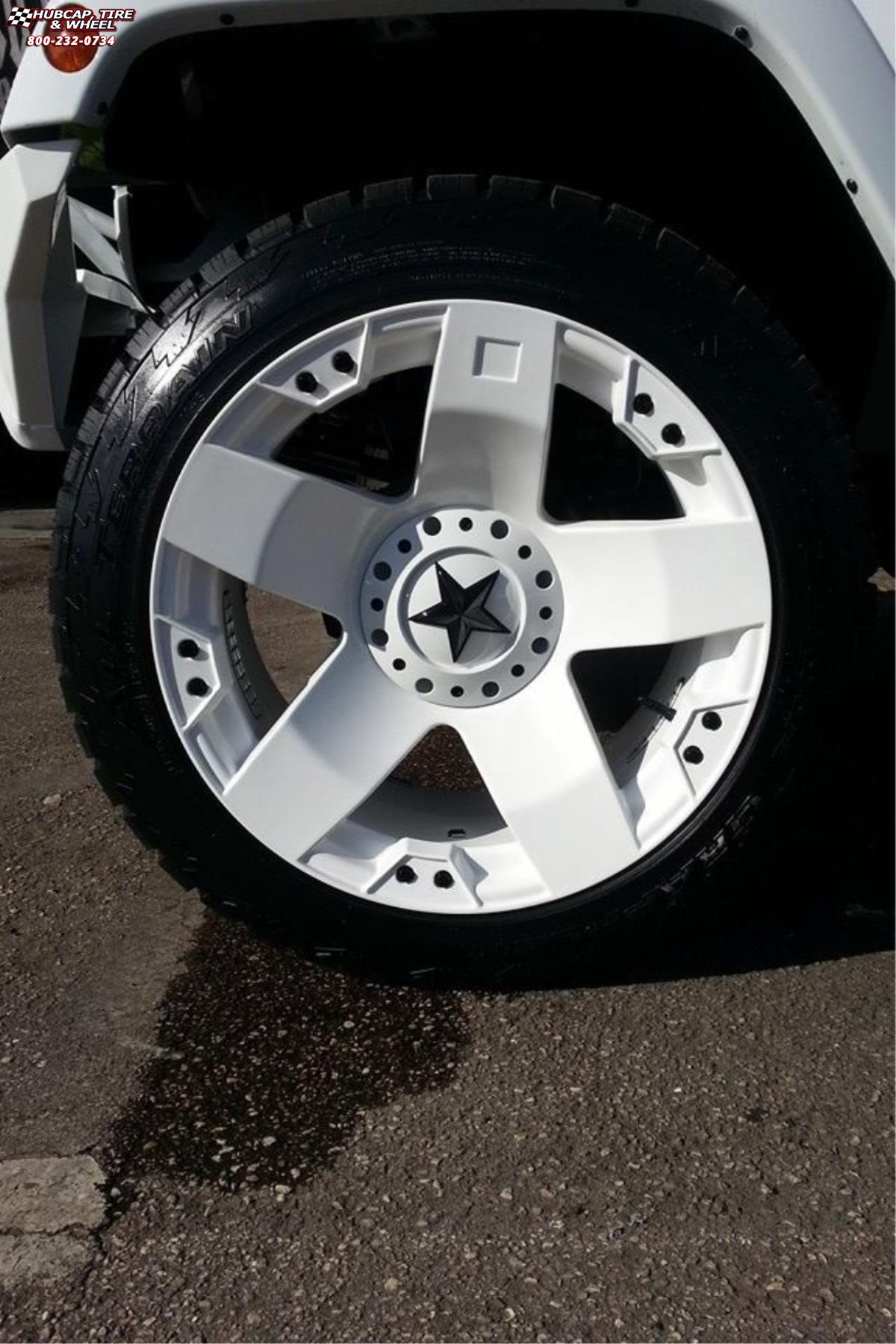 Xd Jeep Wheels : wheels, Wrangler, Series, XD775, Rockstar, Wheels, White
