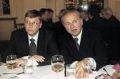 1999: Microsoft-Gründer Bill Gates und Hubert Burda