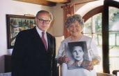 Dr. Hubert Burda und Aenne Burda, 1999
