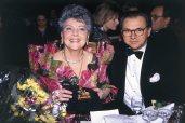 Verleihung des Valentin-Ordens an Aenne Burda, 1990