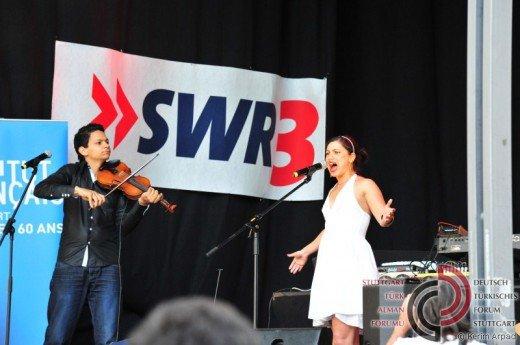 Emel Mathlouthi beim Sommerfestival der Kulturen 2012