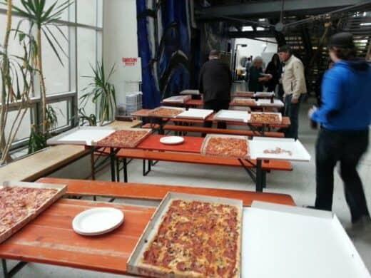 Überblick über die Pizzen