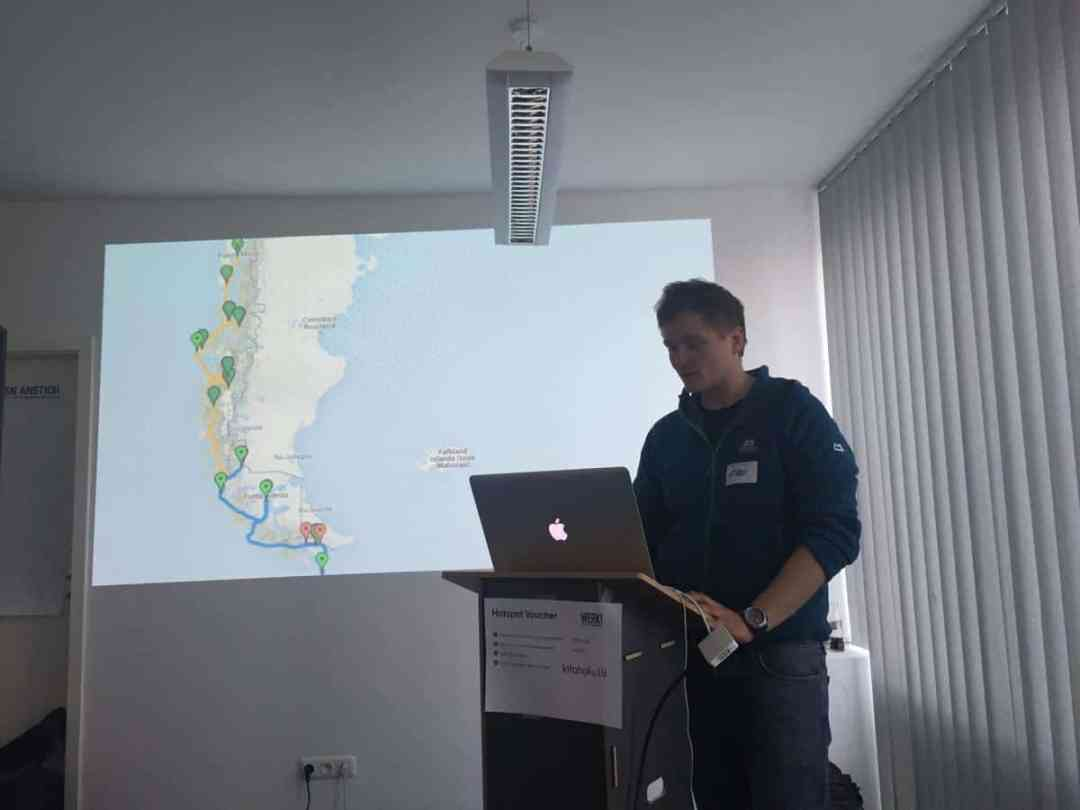 Klaus zu Beginn seiner Session zum Mobile Reporting auf dem Digitalmediacamp in München 2016