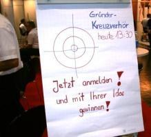 START-Messe 2012 Nürnberg Gründer Kreuzverhör