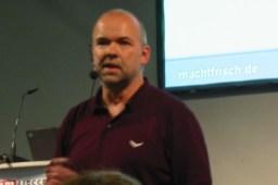 Hubert Baumann, Haibach, Aschaffenburg, Wien - hier: auf der START-Messe in Nürnberg