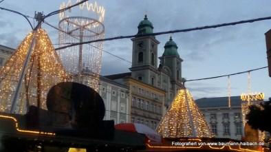 Weihnachtsbeleuchtung in Linz, Oberösterreich