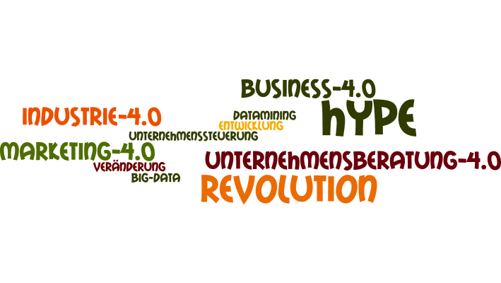 Industrie 4.0, Revolution, Hype,