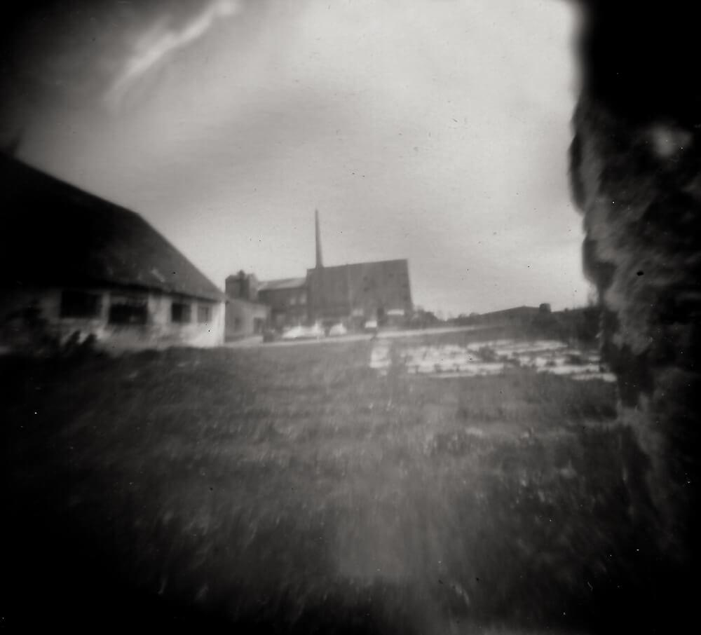 Fotografia otworkowa - Nieczynna gorzelnia w Łabiszynku