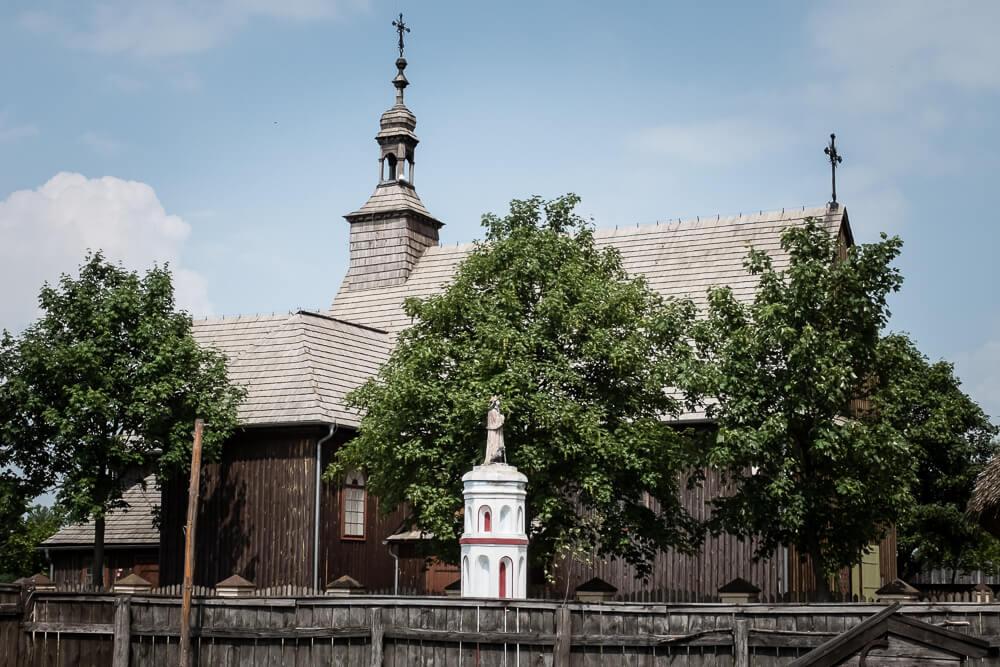 Wielkopolski Park Etnograficzny w Dziekanowicach - Kościół