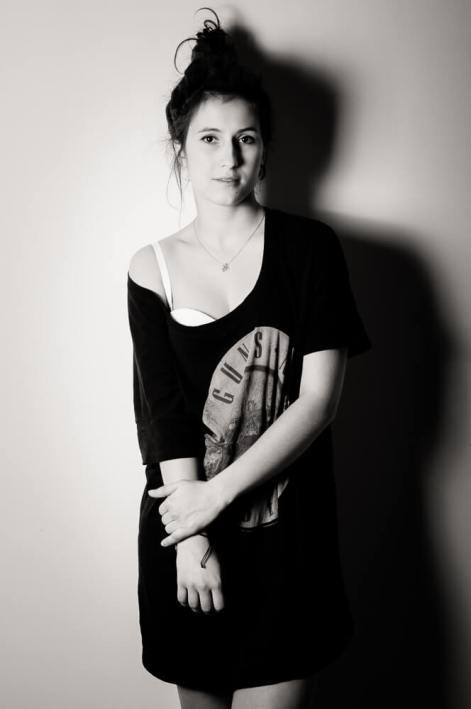 Czarno biała sesja zdjęciowa Agnieszki