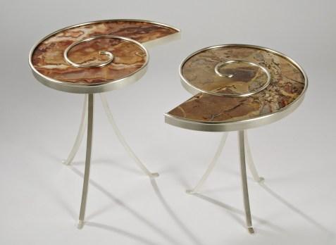 Guéridon Ammonite