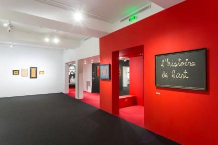 """Exposition """"Tout est art ? Ben au Musée Maillol"""" - Section historique"""