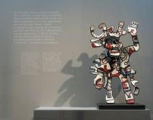 """""""Jean Dubuffet - L'hourloupe de la peinture au monument"""""""