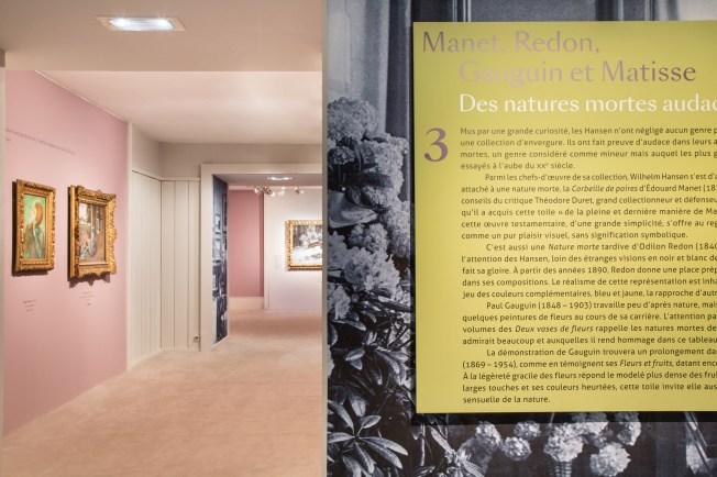 """Exposition """"Le Jardin Secret des Hansen"""" - salle 4"""