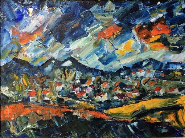 German Expressionist Landscape Paintings