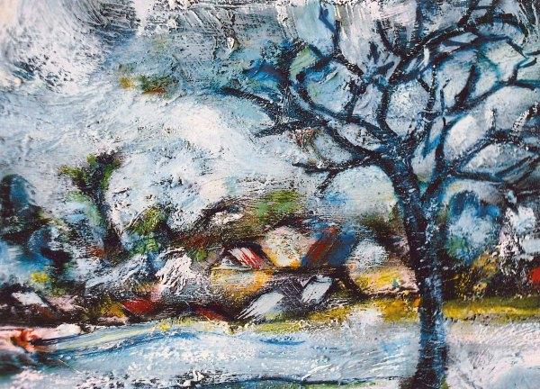 German-expressionist-winter-landscape-winter In Holland