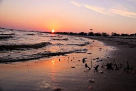 nl Shell Beach Sunset